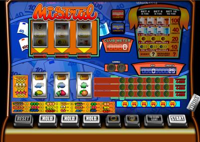 classic jackpot gokkasten mistral